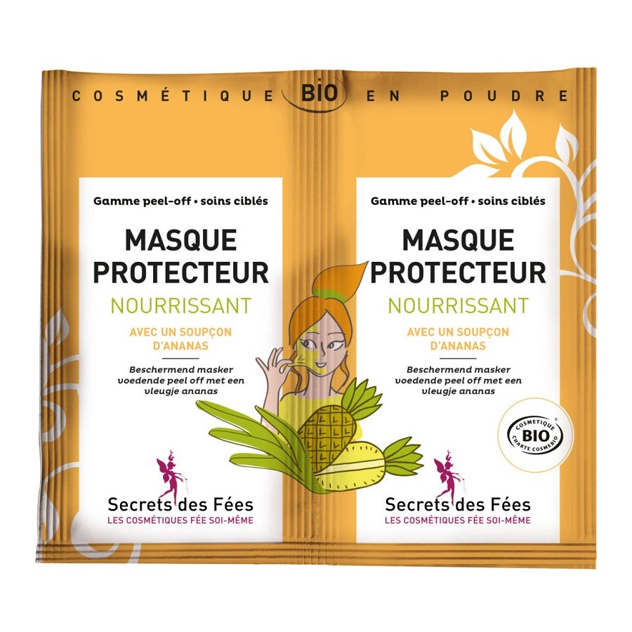 Masque protecteur nourrissant Bio Secrets des Fées