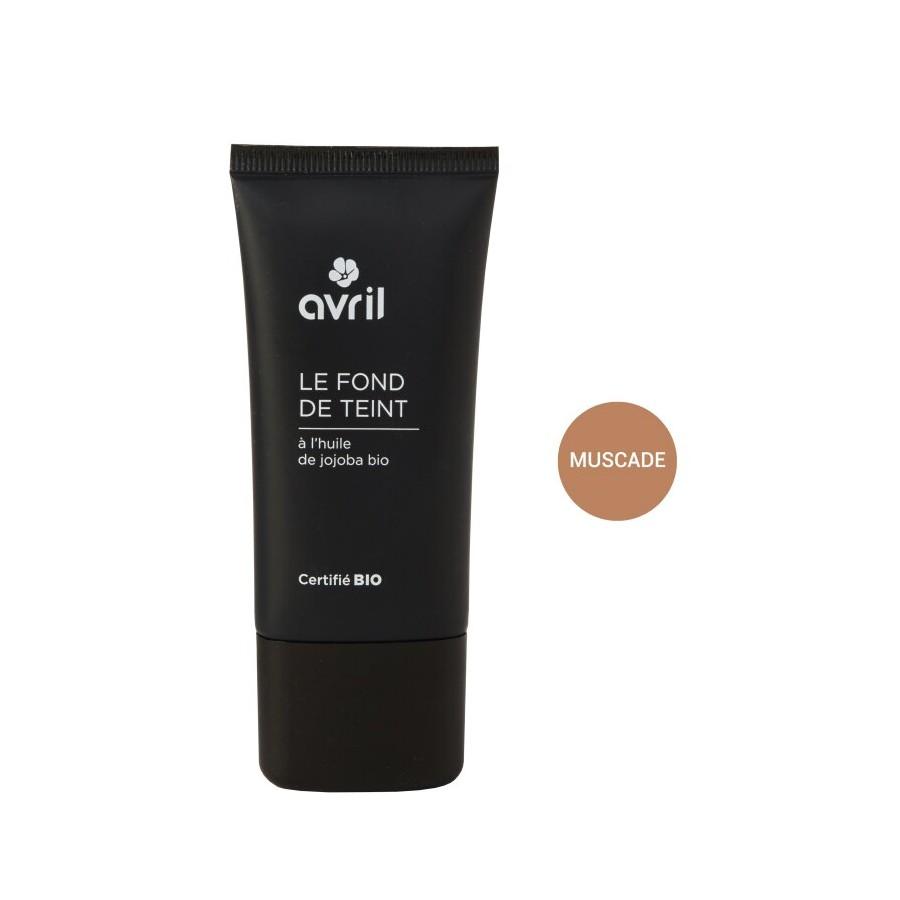 Fond de teint muscade certifié Bio Avril cosmétique