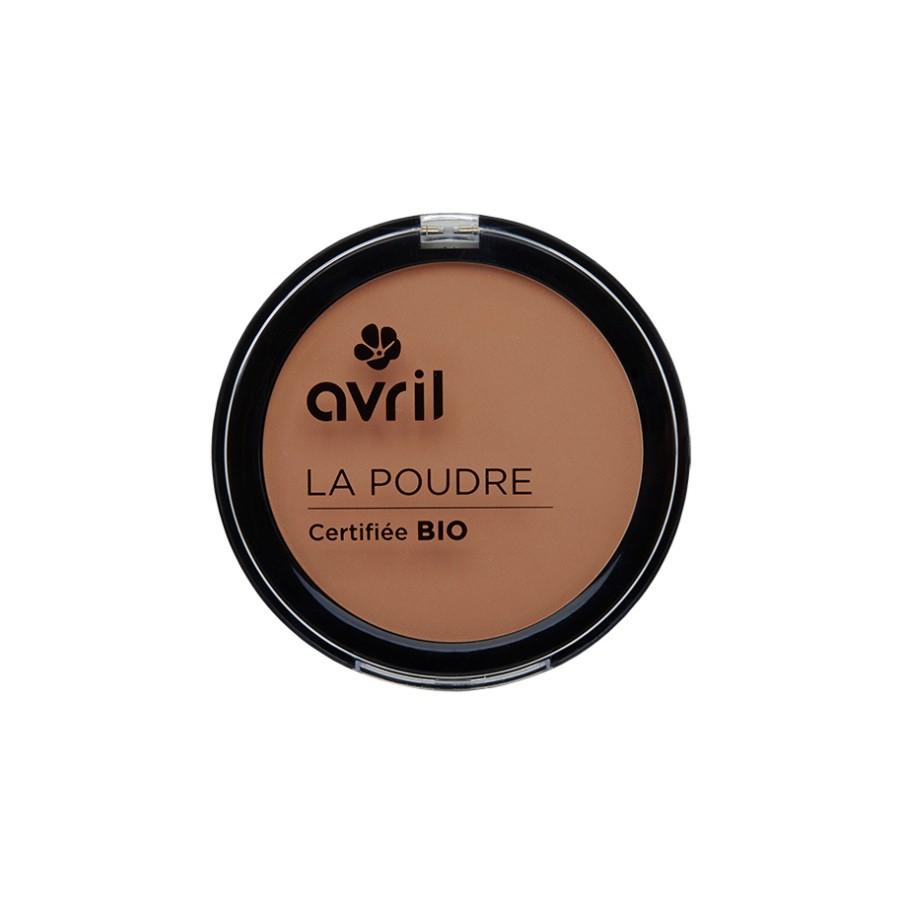 Poudre compacte cuivrée certifié Bio Avril cosmétique