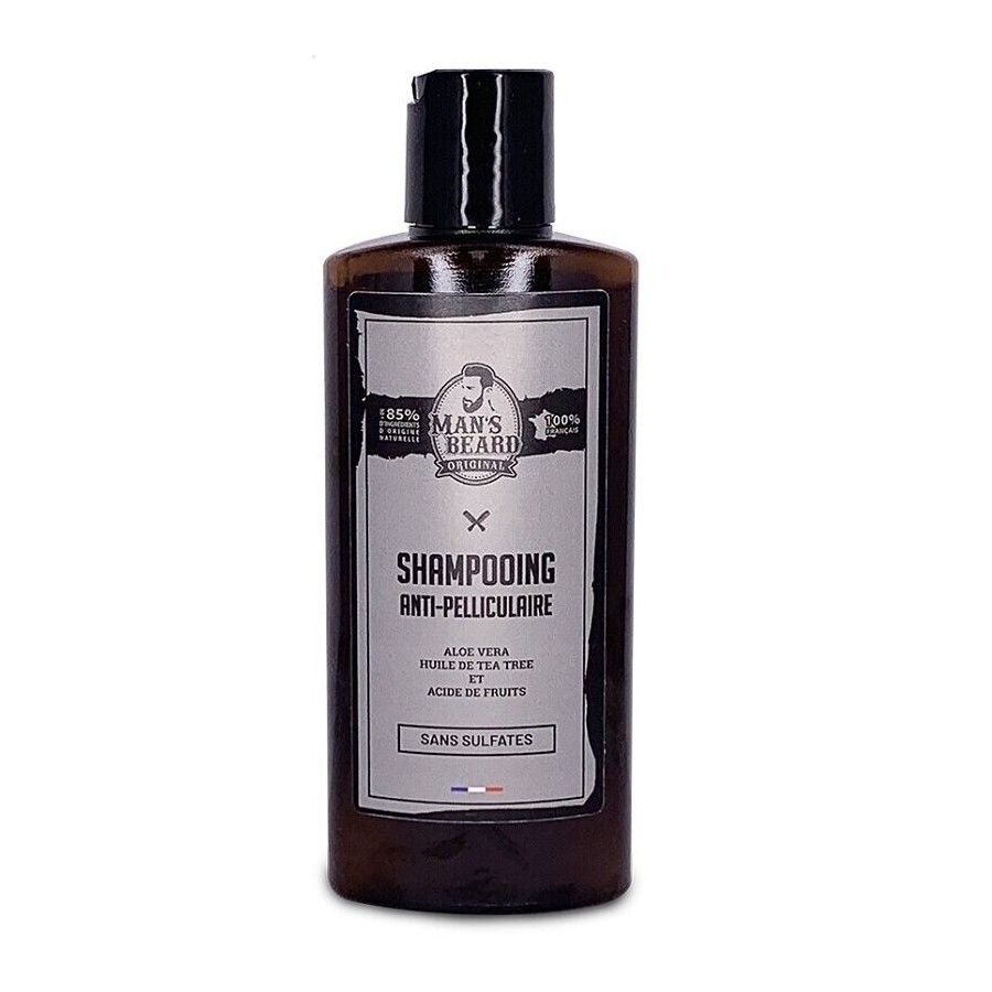 Shampoing anti-pelliculaire sans sulfates Man's Beard