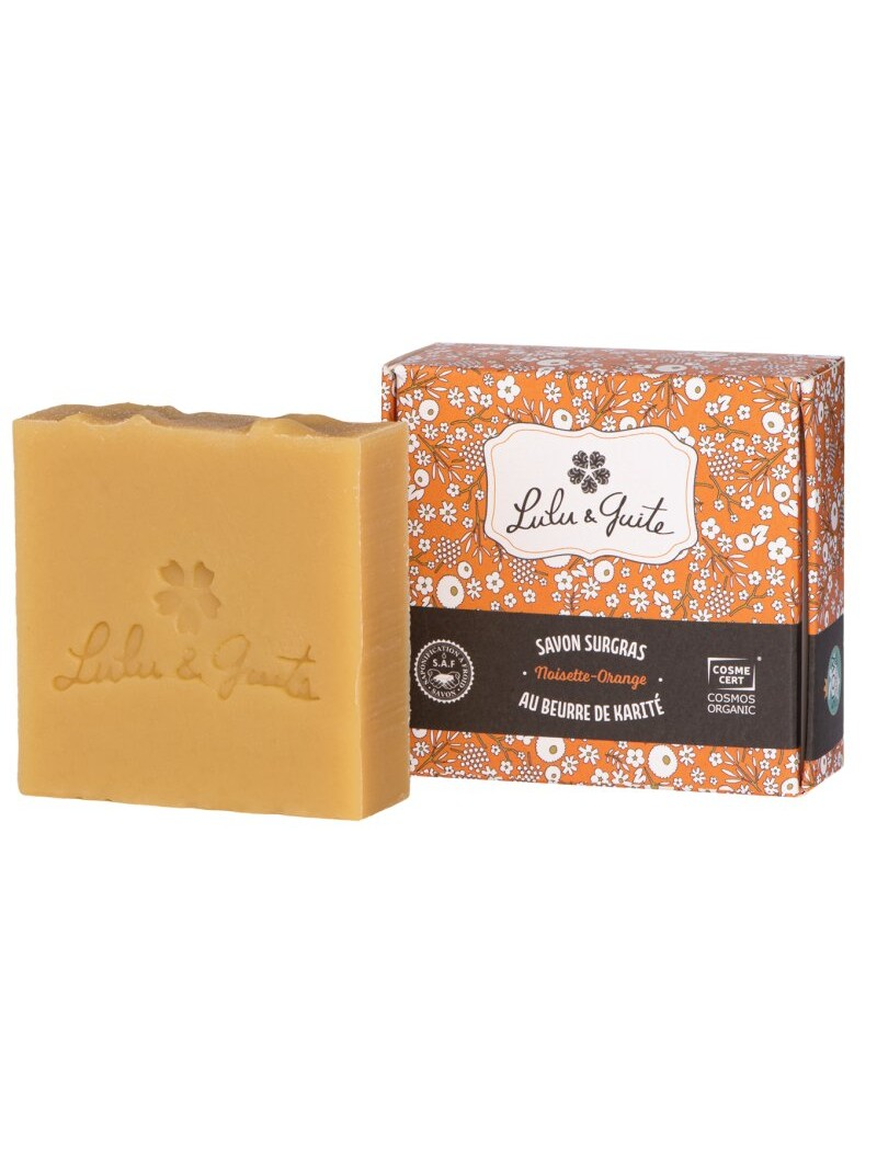 Savon surgras noisette et orange Lulu & Guite