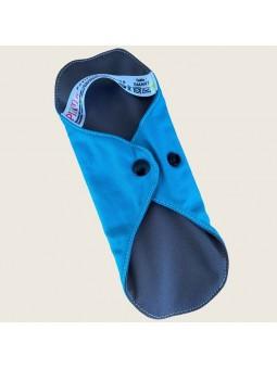 Protège-slip lavable bleu turquoise Classic Smart Plim