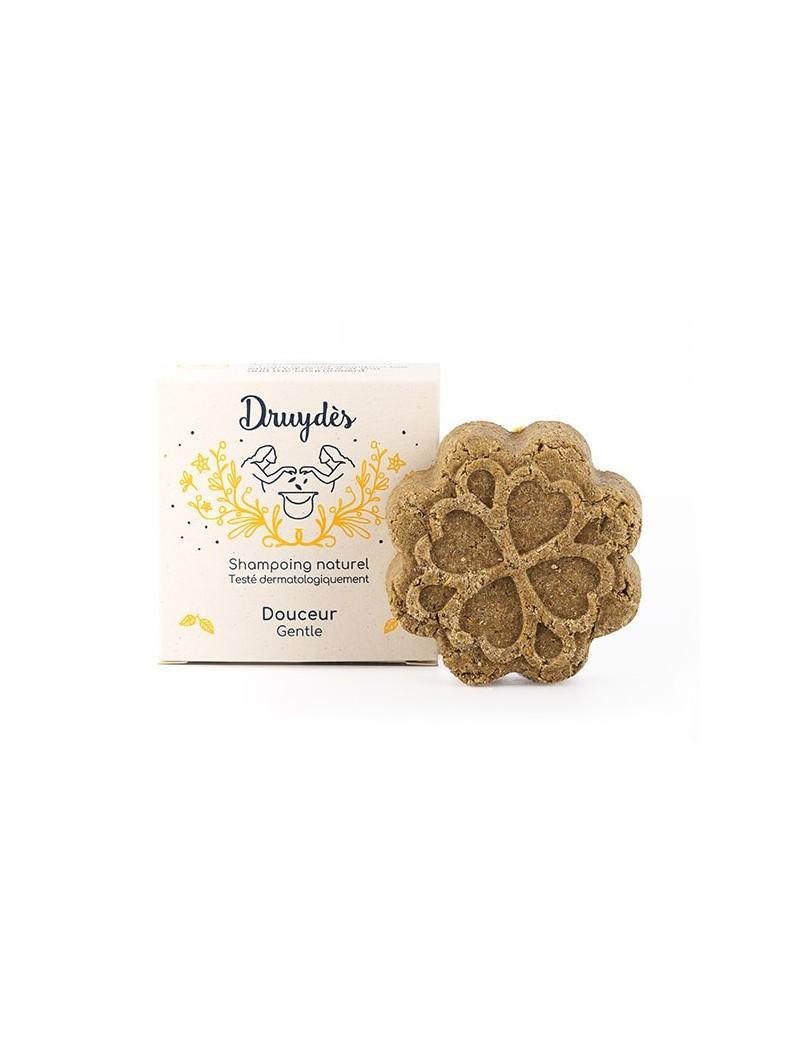 Shampoing solide douceur naturel Druydès