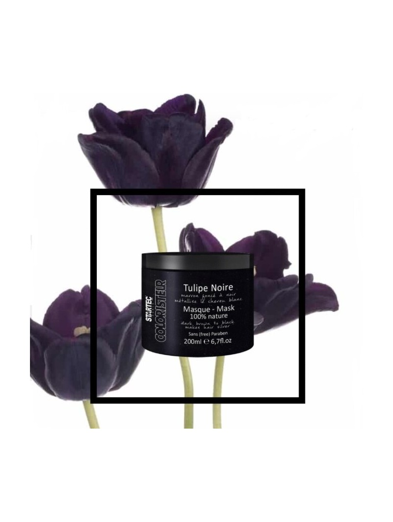 Masque colorant noir intense Startec