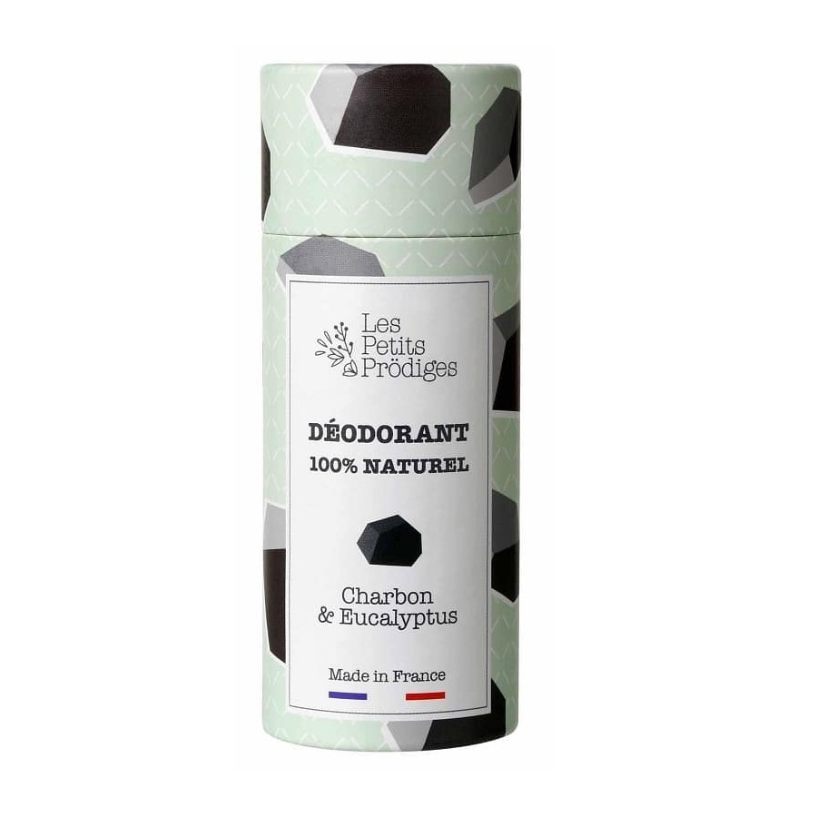 Déodorant charbon & eucalyptus 100% naturel