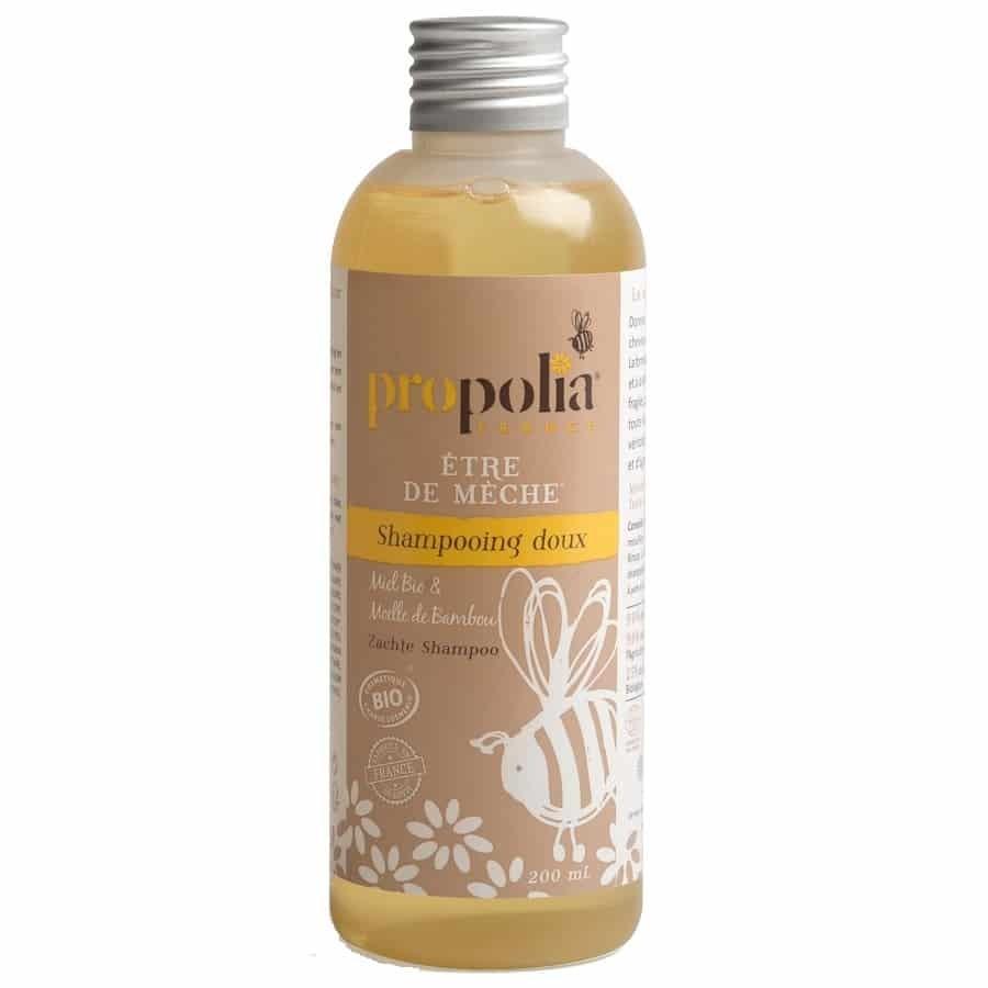 """Shampoing doux miel et bambou Bio """"Être de mèche"""" Propolia"""