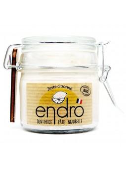 Dentifrice zeste citronné 100% naturel endro cosmétiques