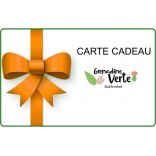 Carte cadeau à offrir pour laisser le choix de ses cosmétiques bio [ Grenadine verte